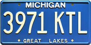 Celebrity Machines Ash vs Evil Dead   3971 KTL   Metal Stamped License Plate
