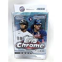 $24 » 2021 Topps Chrome Baseball Hanger Pack