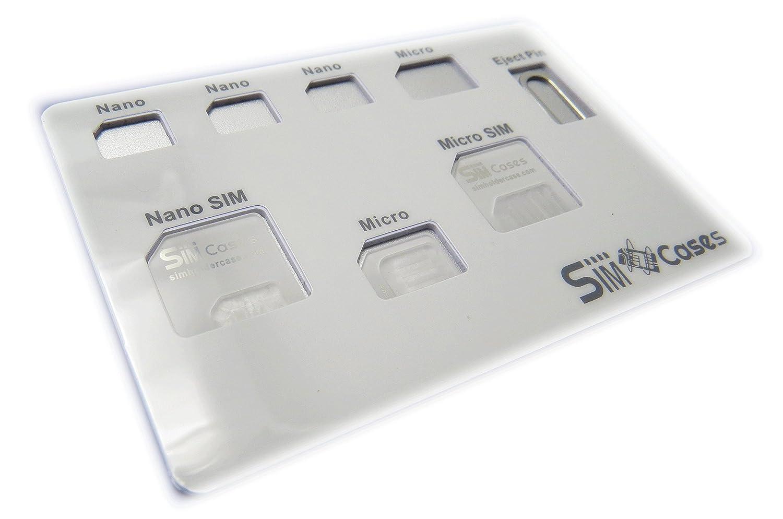 Amazon.com: NANO - Funda para tarjeta SIM con adaptador de ...