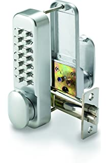 Yale Locks PDL02SC Push Button Door Lock - Chrome Finish: Amazon co
