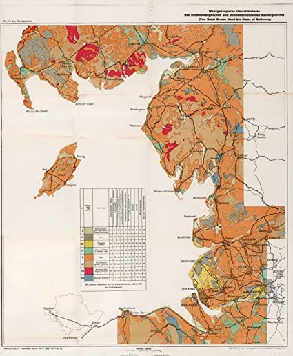 Map Of Nw England.Amazon Com Historic Pictoric 1941 Military Atlas Geological Map