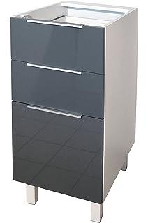 Berlenus CF6BG - Mueble bajo de Cocina para el Horno (60 cm ...