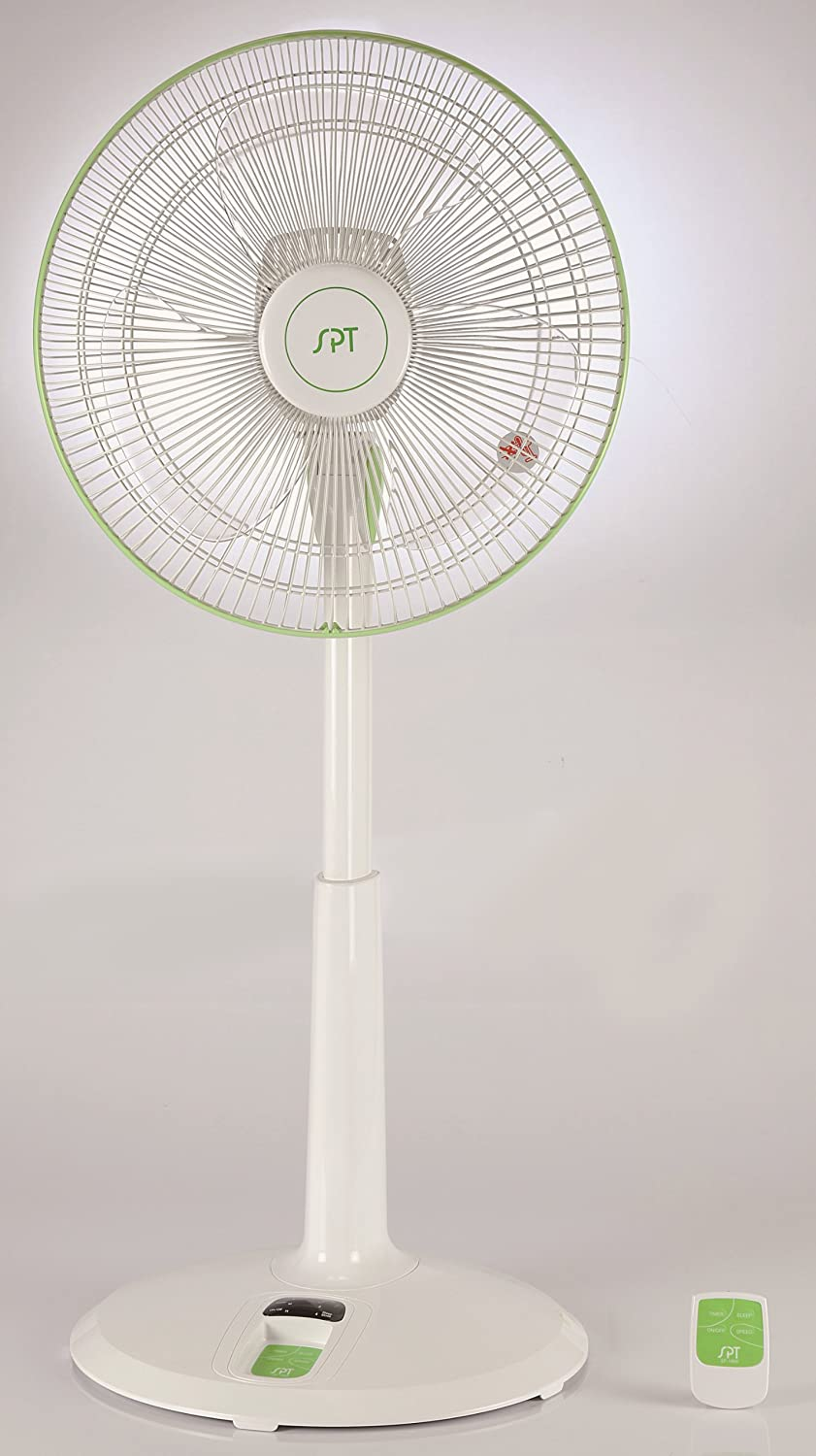 SPT 14 DC-Motor Energy Saving Stand Fan, Multi