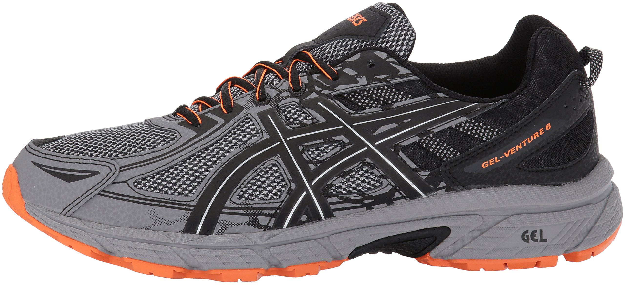 ASICS Mens Gel-Venture 6 Running Shoe, Frost Grey/Phantom/Black, 7 Medium US by ASICS (Image #5)