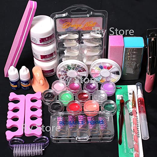 Kiss Salon Secrets Nail Art Pro Tool Kit Nsat01: Best Acrylic Nail Kit To Get Top Quality Salon Results At Home