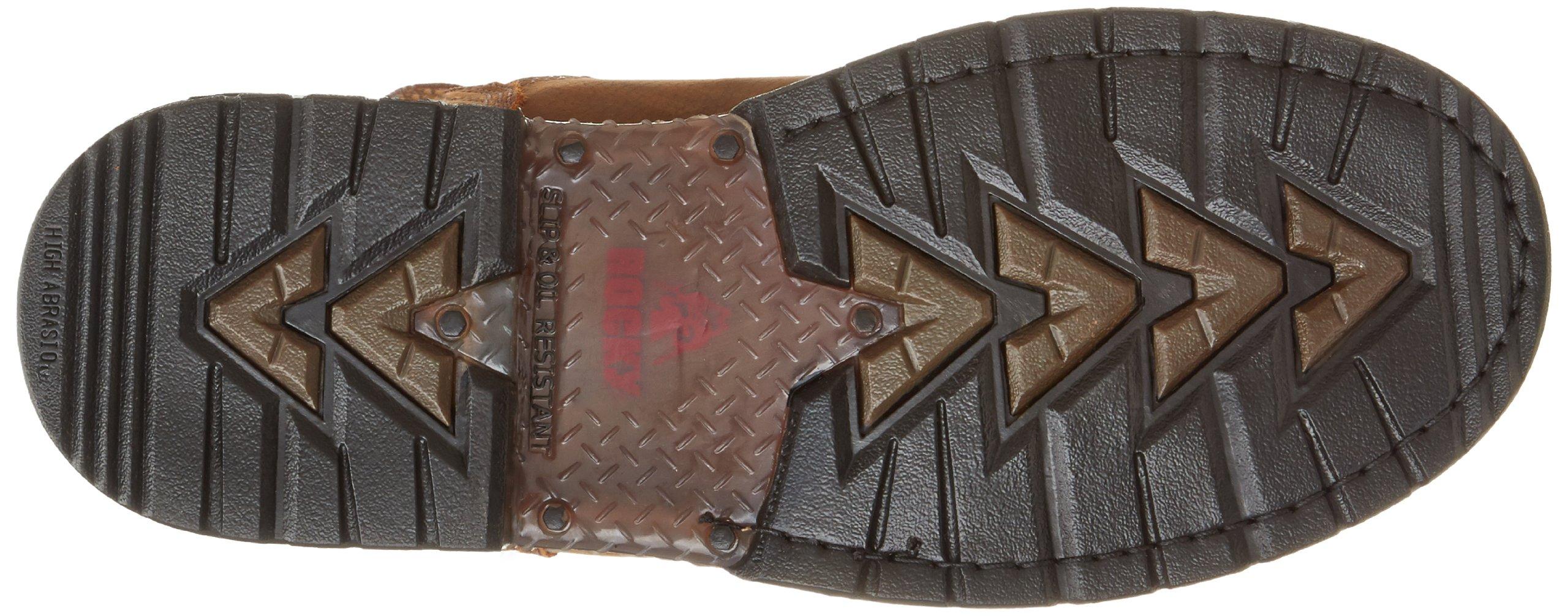 Rocky Men's Iron Clad Eight Inch LTT Steel Toe Work Boot,Brown,13 M US by Rocky (Image #3)