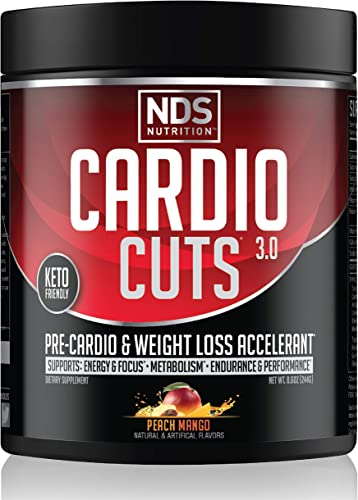 NDS Nutrition Cardio Cuts 3.0 Pre Workout Supplement