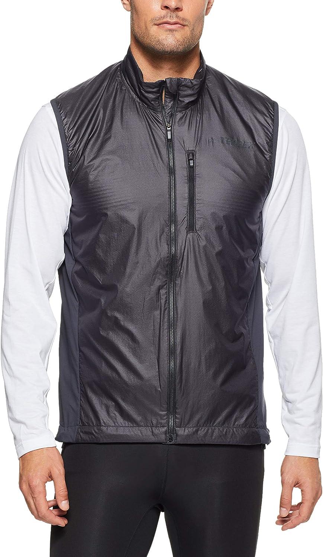 adidas Agravic Vest - Chaleco, Hombre, Gris(Carbon)