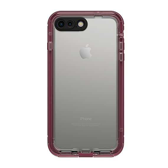 770c199edf1 LifeProof NUUD SERIES Waterproof Case for iPhone 7 Plus (ONLY) - Retail  Packaging - PLUM REEF (WILD BERRY/DEEP PLUM PURPLE/CLEAR): Amazon.com.mx:  ...