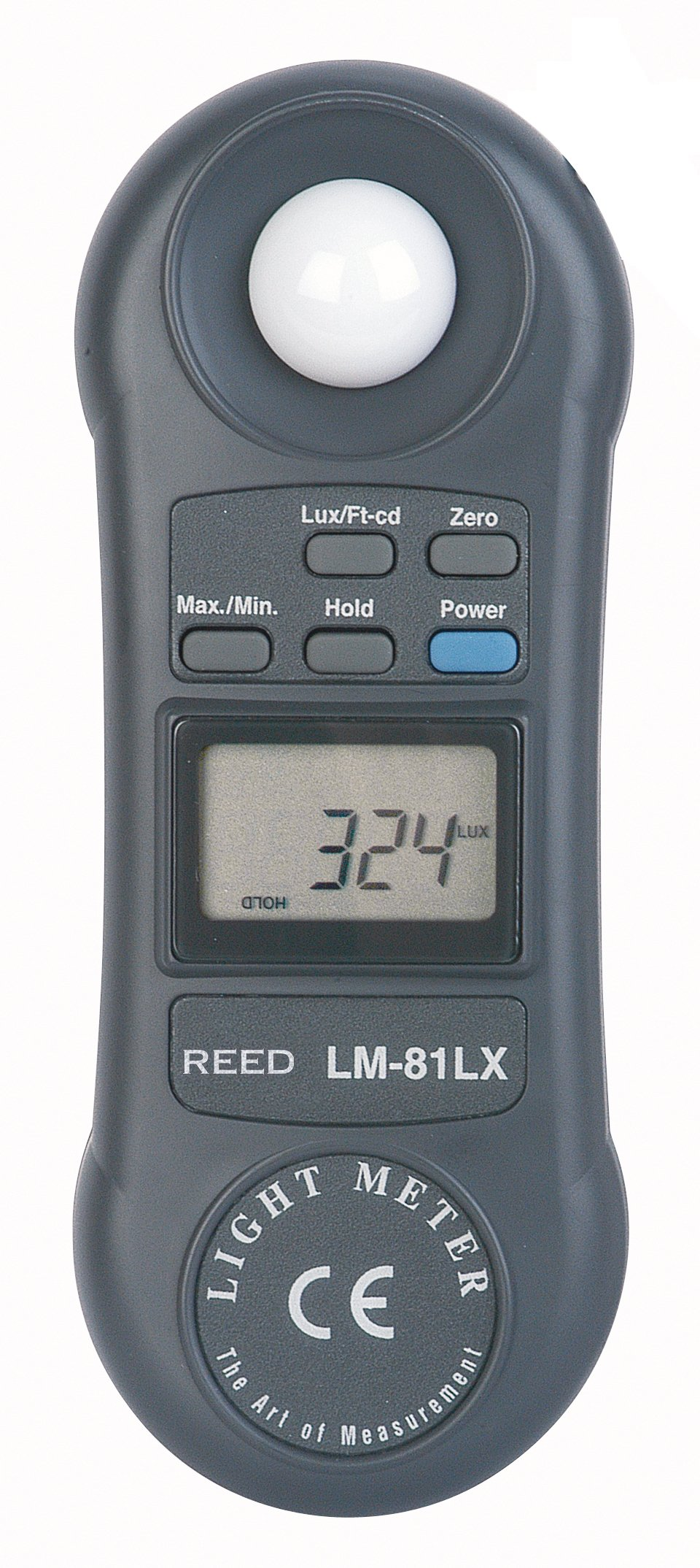 REED Instruments LM-81LX Compact Light Meter, 20,000 Lux / 2,000 Foot Candles (Fc) by REED Instruments