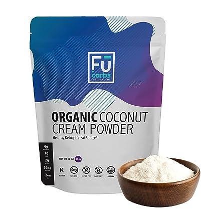 Polvo orgánico de coco crema de leche – Fū Carbs crema de ...
