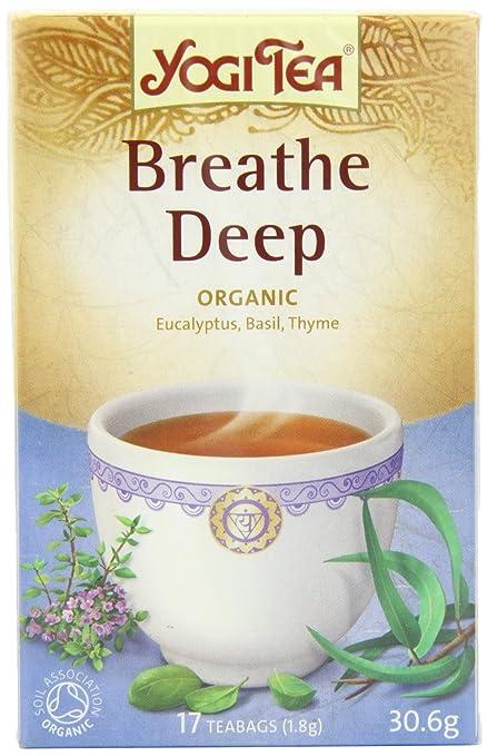 Yogi Tea Breathe Deep 17 Bag: Amazon.es: Alimentación y bebidas
