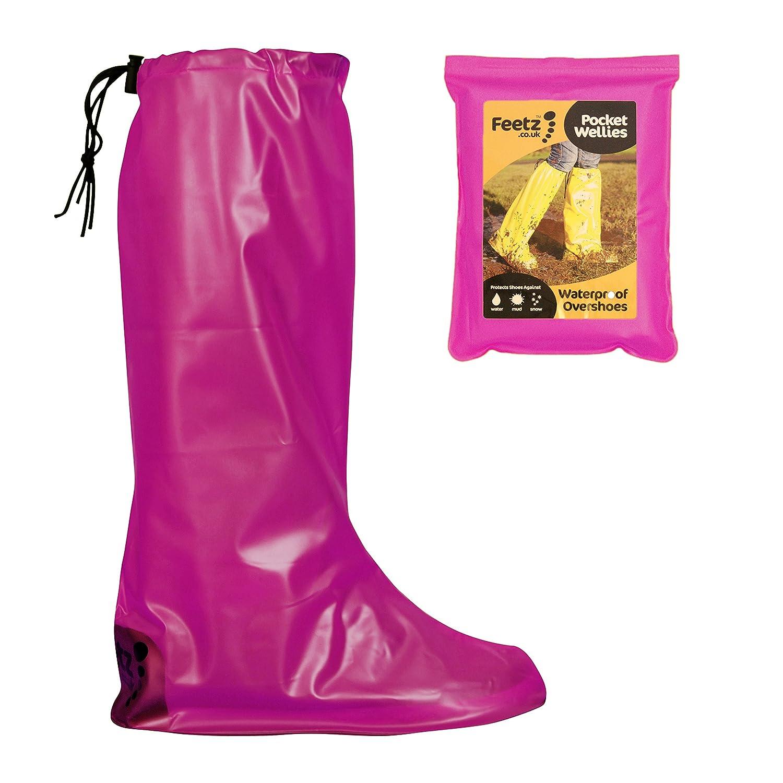 Feetz Pocket Wellies, Bottes de Wellies, Neige femme homme adulte mixte Neige adulte Rose - Rose ac13130 - shopssong.space