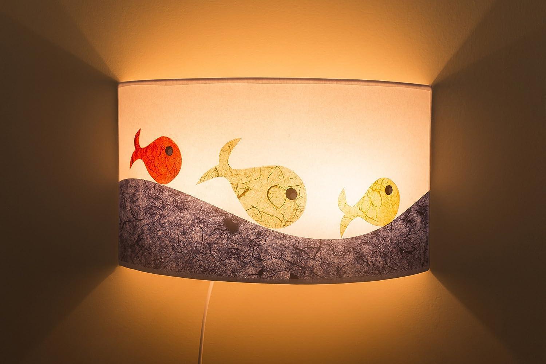 Lámpara de pared infantil/ Lámpara hecha a mano/Lámpara original/ Luz cálida