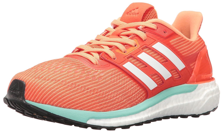 adidas Women's Supernova W Running Shoe B01H68SW3U 8 B(M) US|Energy White/Easy Orange S