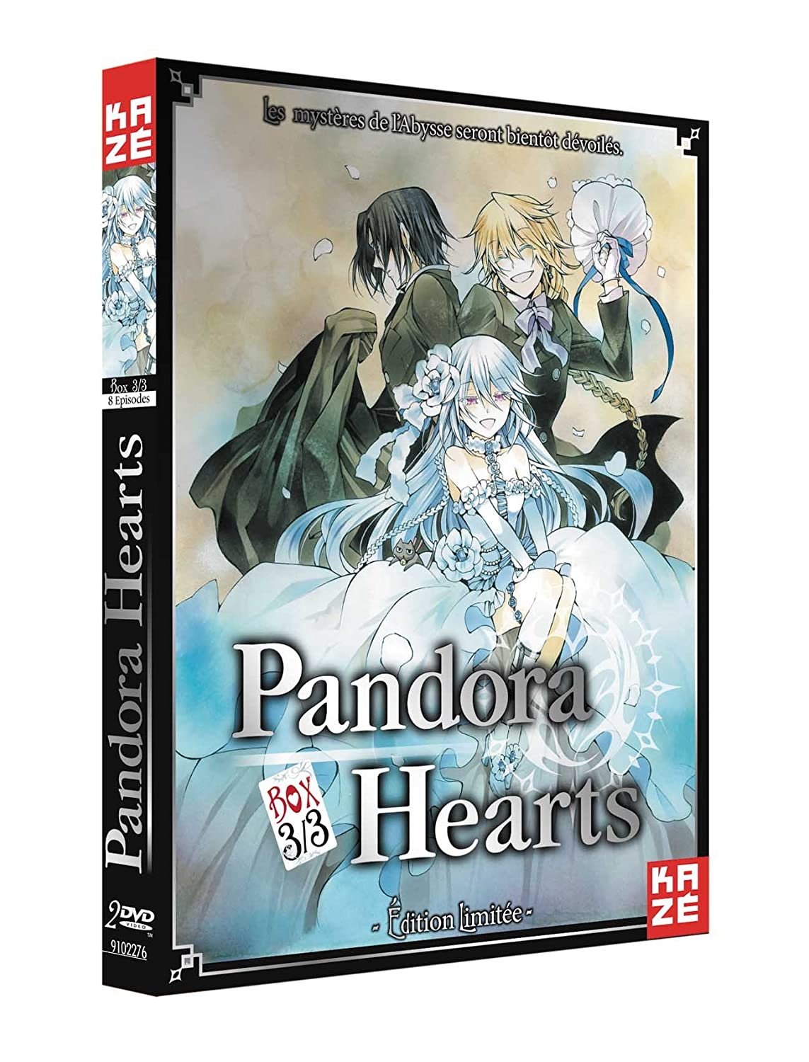 coffret pandora hearts