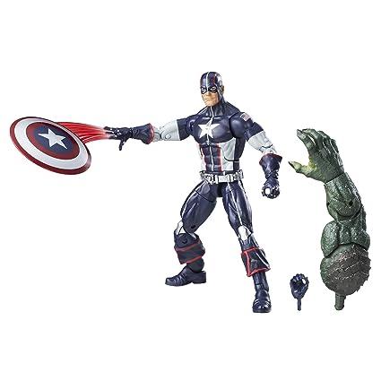 cfcaf966c6 Amazon.com: Marvel 6-Inch Legends Series Secret War Captain America: Toys &  Games