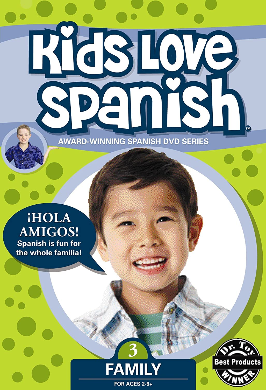 Amazon Kids Love Spanish Volume 3 Family Brock And Friends