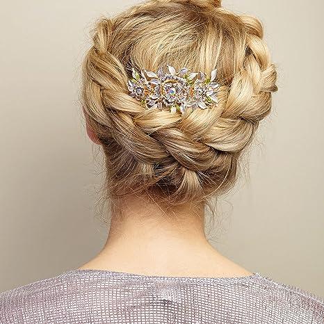 Queenmee - Broche para el pelo b59a3bba0262