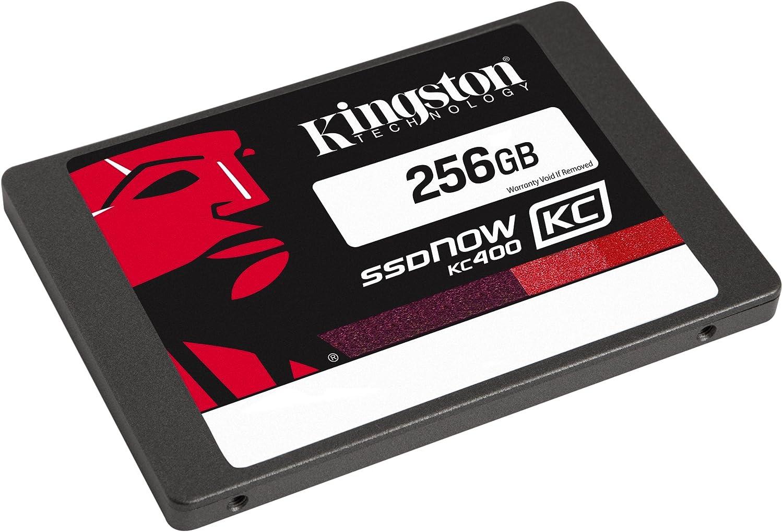 Kingston KC400 SSDNow - Disco Duro sólido de 256 GB (SATA 3, 2.5 ...