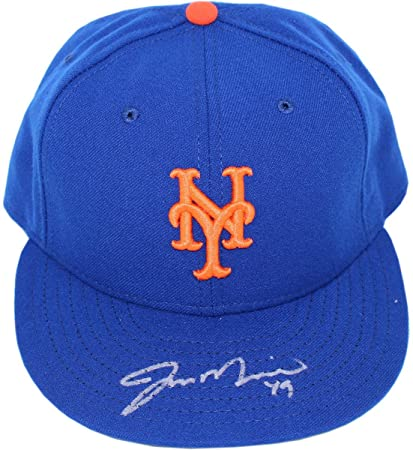 100% authentic ce875 0edd7 ... czech jon niese signed blue new york mets hat mlb auth size 7 1 c9dd4  0ee90