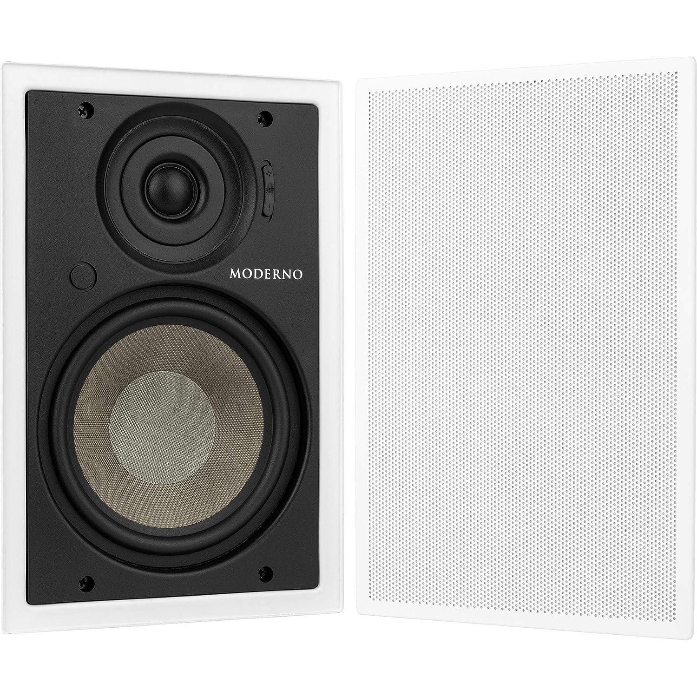 Moderno M6 6-1/2 In-Wall Speaker Pair