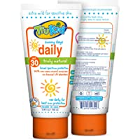 TruKid Sunny Days Daily SPF 30 Sunscreen Lotion for Kids, Citrus Scent, 3.4 oz. – Chemical-Free Body and Face Sunscreen…