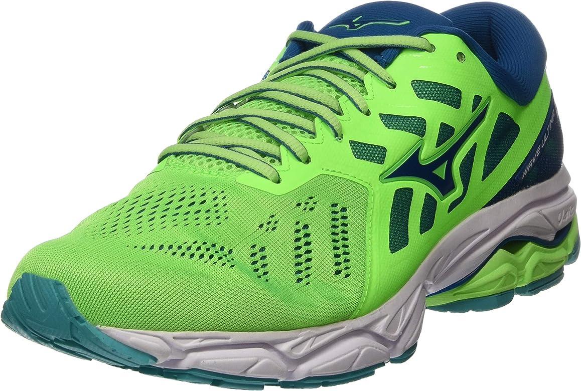 Mizuno Wave Ultima 11, Zapatillas de Running para Hombre, Verde (Gecko/Blue Sapphire/Wht 16), 39 EU: Amazon.es: Zapatos y complementos