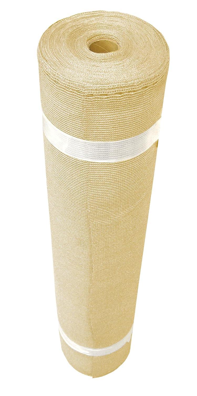 Coolaroo 439743 6X100 70% Uv Sand Shade, ((6' x 100') Sandstone
