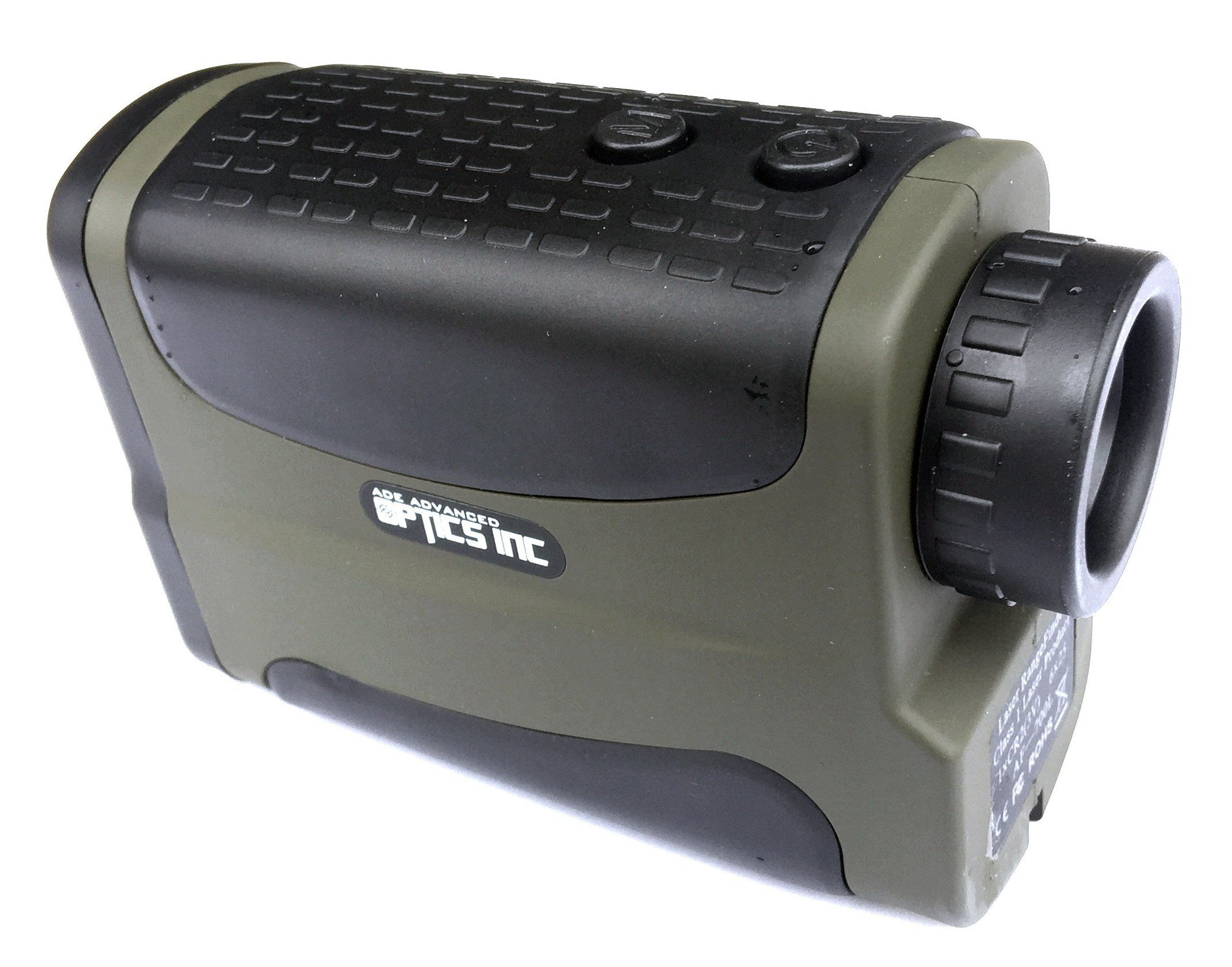 Ade Advanced Optics Laser Rangefinder for Hunting and Golf, 700 yd/ 6X 25mm, Green