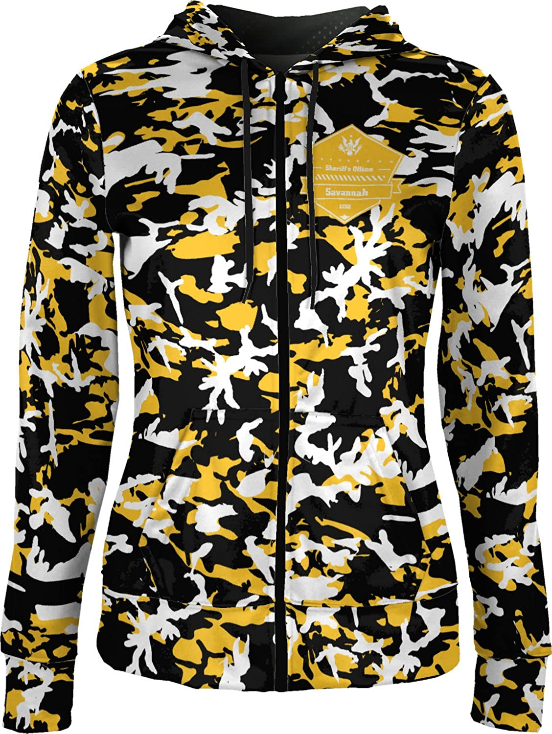 ProSphere Women's Chatham County Sheriff's Office Camo Fullzip Hoodie