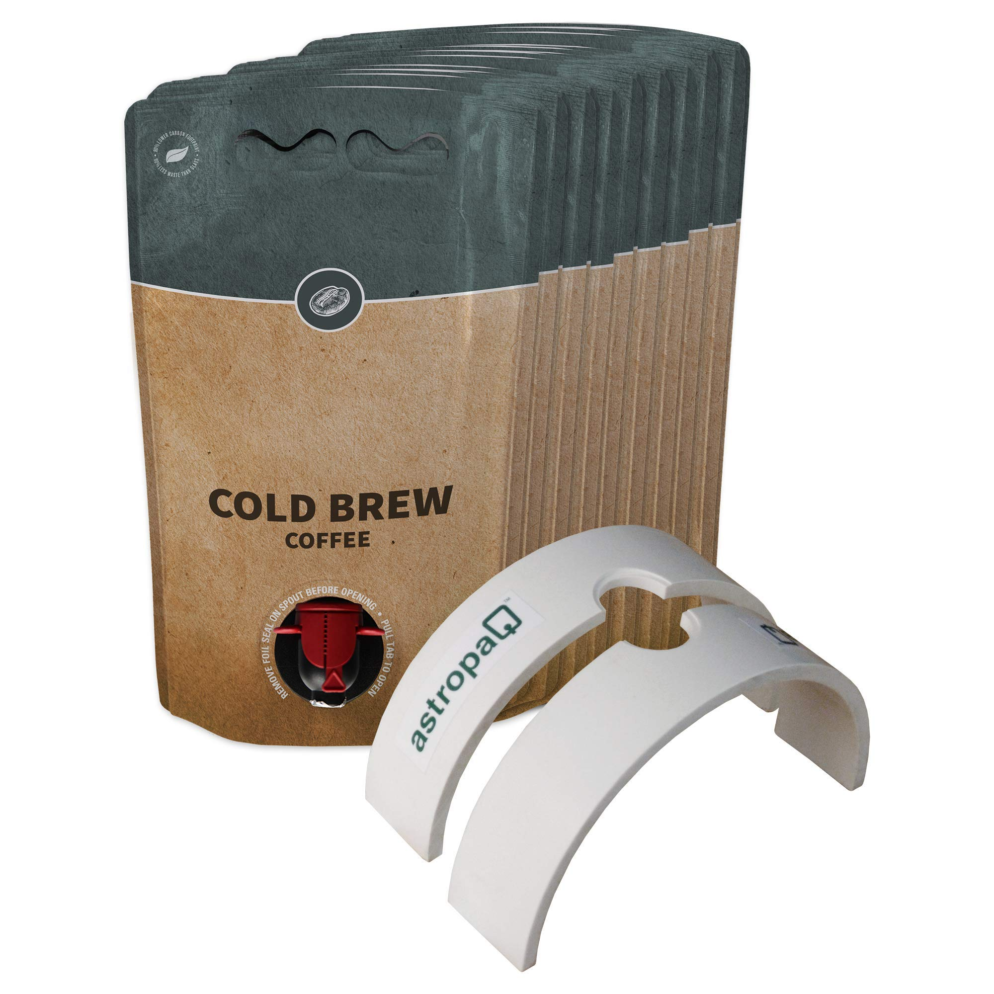 1.5L Cold Brew Coffee Pouch Storage and Dispensing Starter Kit -Everything You Need to Easily Package and Store Your Coffee in Convenient and Easy to Carry Pouches (15 x 1.5L Cold Brew Coffee Pouches)