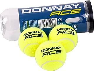 Donnay Balles de Tennis 3St, Vert Fluo, Taille Unique
