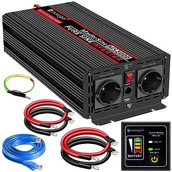 GC® 2000W//4000W Spannungswandler Wechselrichter 12V auf 230V Power Inverter USB