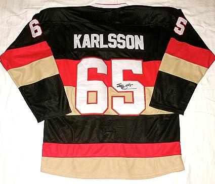 new style 00b2a 0e144 Erik Karlsson Autographed Jersey (Senators) at Amazon's ...