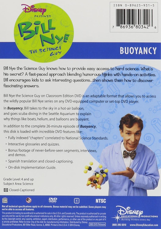 Amazon Bill Nye the Science Guy Buoyancy Bill Nye Movies TV – Bill Nye Matter Worksheet
