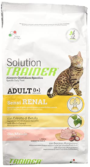 Gato Solution Sensirenal Cerdo Kg. 1.5: Amazon.es: Productos para mascotas