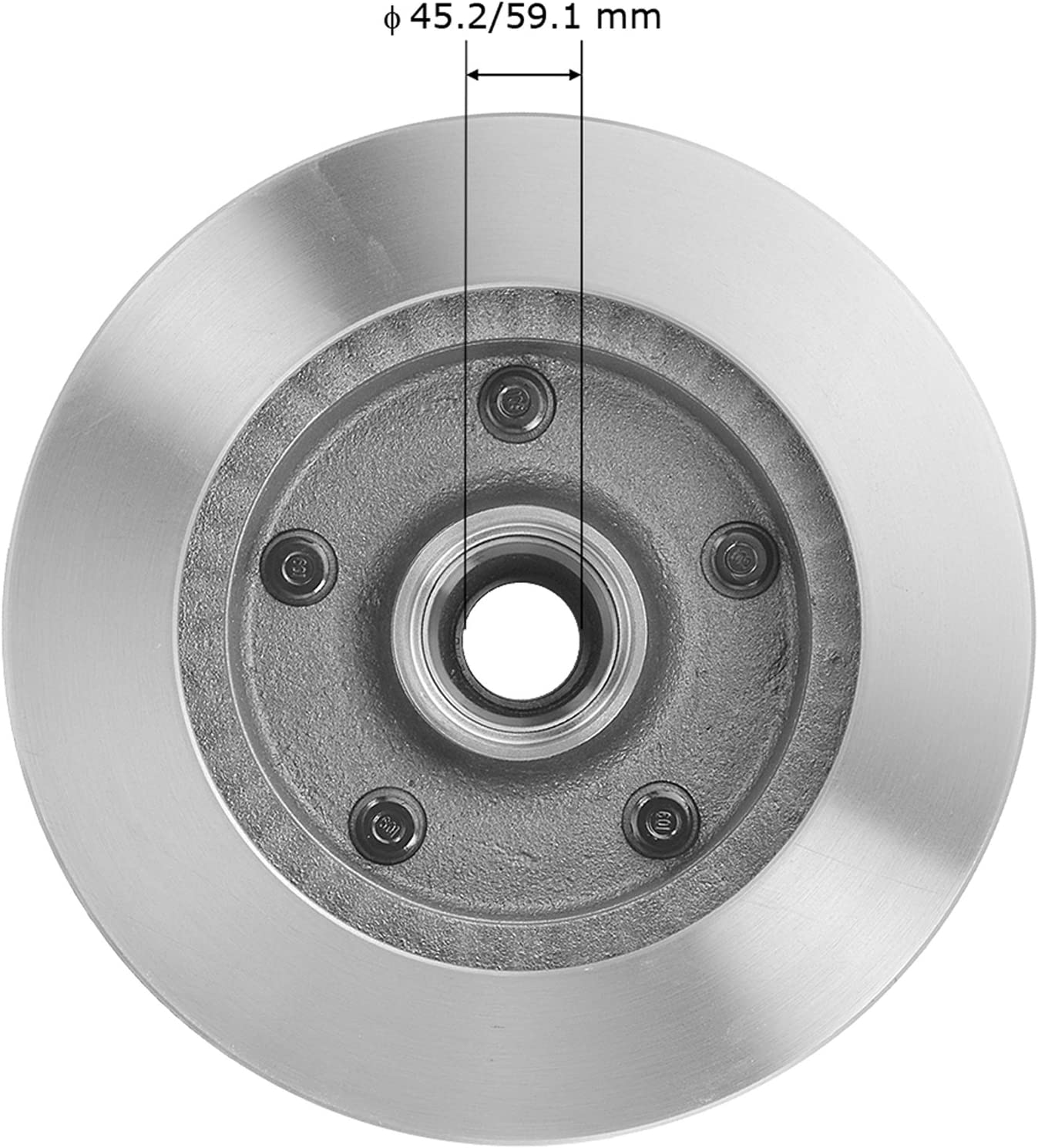 Bendix PRT1067 Brake Rotor