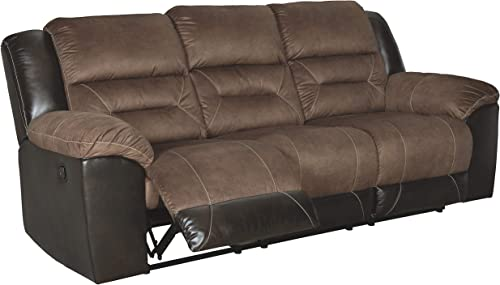 Signature Design by Ashley Earhart Reclining Sofa Chestnut