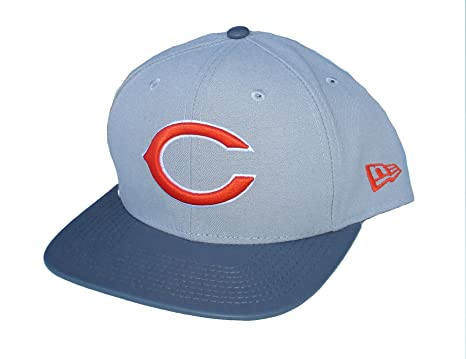 a2da27d5003 Image Unavailable. Image not available for. Color  Chicago Bears Snapback  Adjustable One Size Hat Cap ...