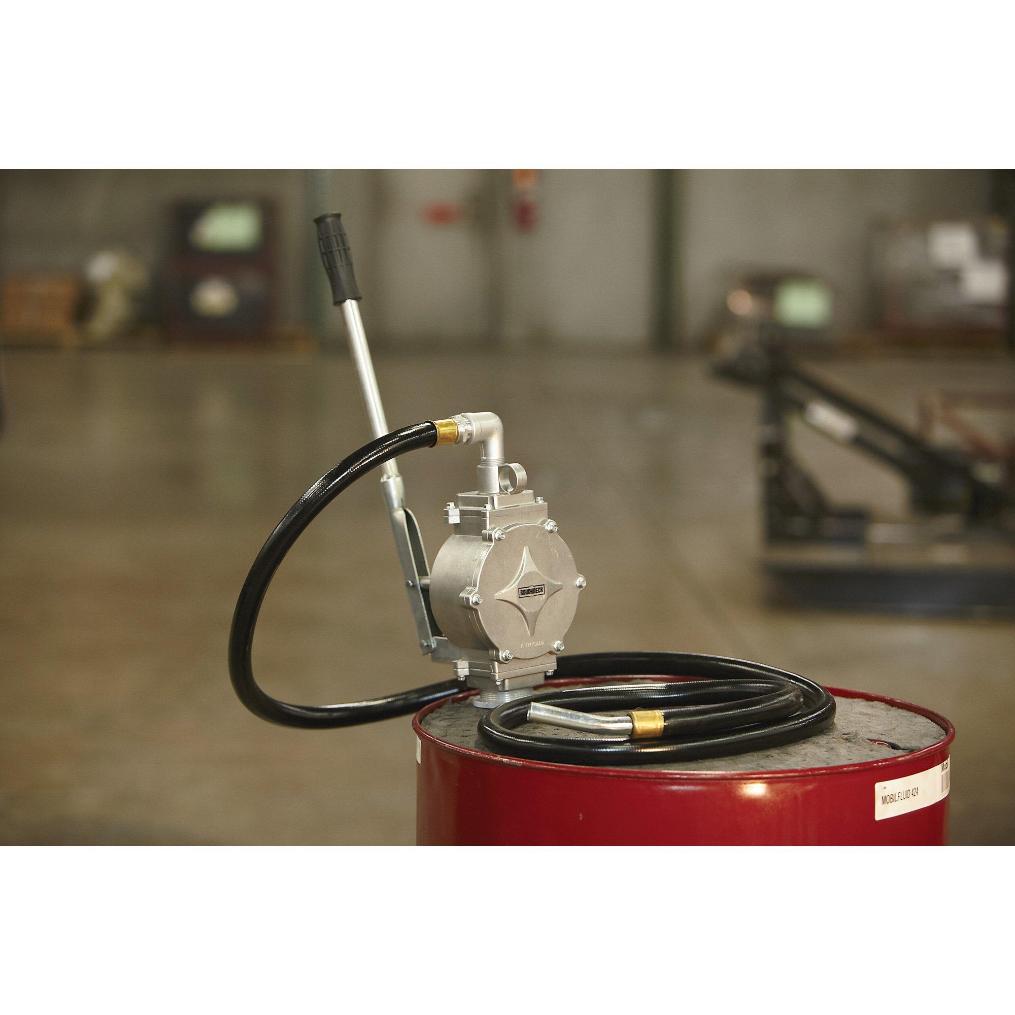 Roughneck Aluminum Heavy-Duty Piston Drum Pump