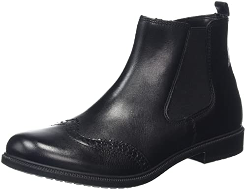 Hotter Kendal, Chelsea Boots Femme, Noir (Black 001), 41 EU