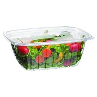 28dcd98e6544 Eco-Products - Renewable & Compostable Rectangular Deli Containers - 32oz.  - Case of 200 (EP-RC32)