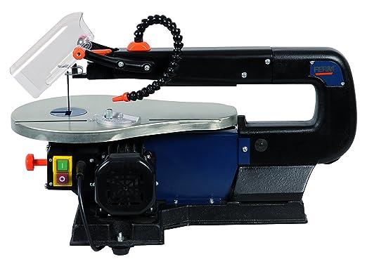 3 opinioni per FERM SSM1005 Sega da traforo 90W- Incl. 10 lame e sistema soffiatore per