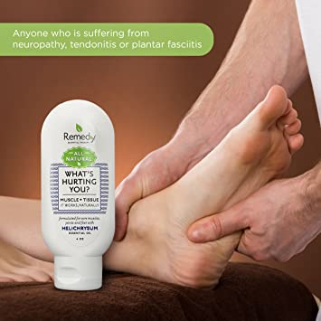Natural Muscle Pain Relief Gel Cream   Menthol Deep Rub For Sore Muscles &  Back Aches