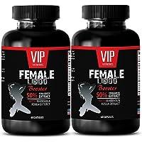 VIP VITAMINS Women sex supplement - FEMALE LIBIDO BOOSTER PILLS - Aphrodisiac pills - 2 Bottles 120 Capsules