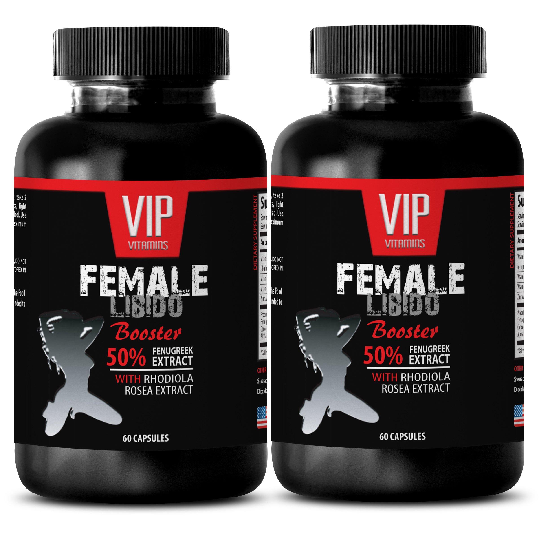 Women sex aphrodisiac - FEMALE LIBIDO BOOSTER PILLS - Aphrodisiac for sex - 2 Bottles 120 Capsules