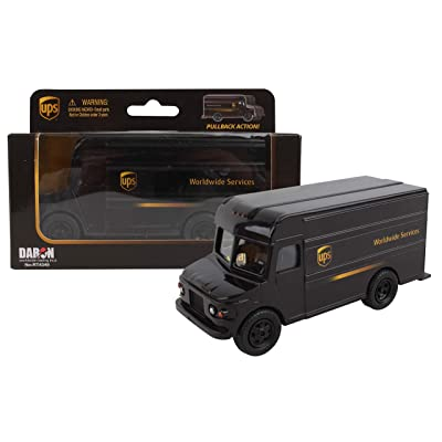 Daron UPS Pullback Package Truck: Toys & Games