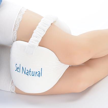 SEL Natural rodilla cojín para ciática Alivio, pierna almohada de espuma de memoria para dolor
