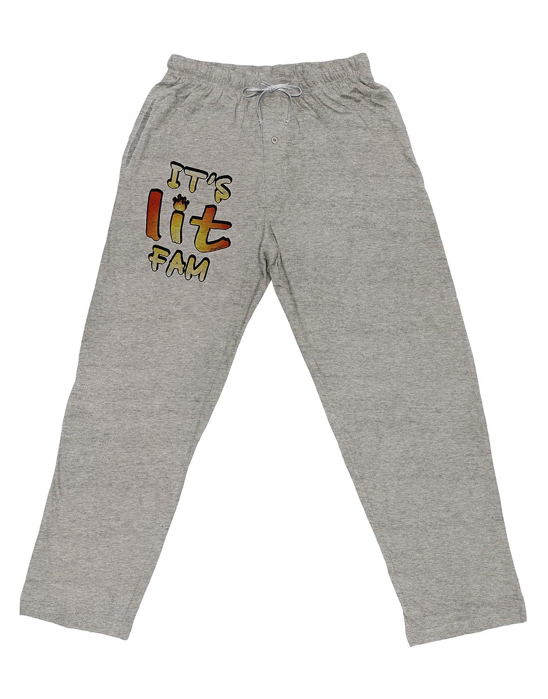 TooLoud Its Lit Fam Adult Loose Fit Lounge Pants